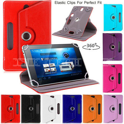 2017 Kindle Fire HD 8 fire7 Case Cover Uni 360° Stand leather Smart Case Covers