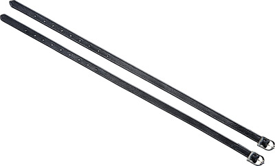 Riding World Soft Leather Spur Straps