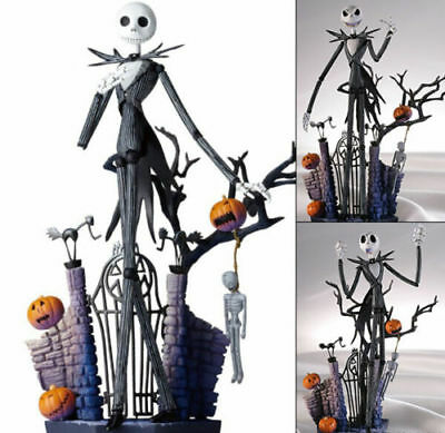 New Christmas Nightmare Before Jack Figure Skellington Sally Doll Disney Set Box