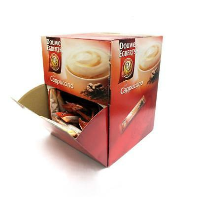 50 Douwe Egberts Cappuccino One Cup Stick Sachets