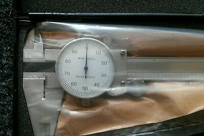 0-12 INCH DIAL VERNIER CALIPERS (last few remaining, make me an offer!)