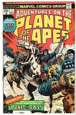 Adventures on the Planet of the Apes #1, Fine Condition'