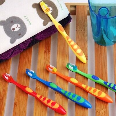 5 x Children Toothbrush in Multi Colour Kids Child Children Teeth Tooth Brushes