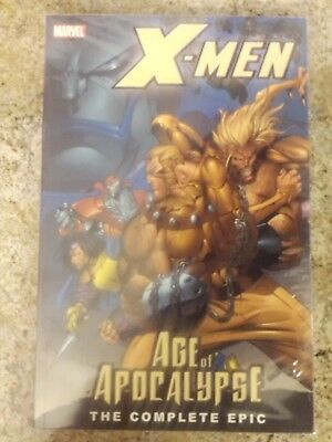 X-Men: Age Of The Apocalypse, The Complete Epic Tpb Trade Book 1, 2, Nm
