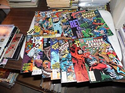 Justice League of America lot of 13 books #96 - #108