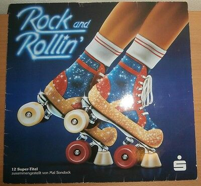 (LP) Rock and Rollin – compiled by Mal Sondock (1979) Sparkasse 275 182 (Vinyl)