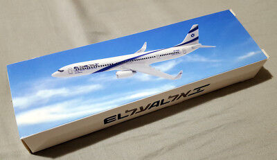Elal 737-900 ER 4X-EHA Model 1/200 extremely rare to find new in box never open