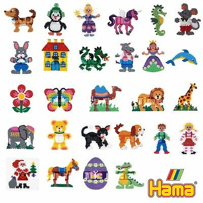 Hama Bead Peg Board Assorted Shapes & Figures Boys & Girls Craft Stocking Filler