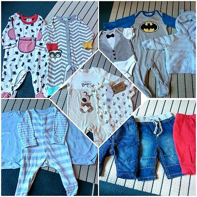 0-3m boy clothes bundle excellent condition some new with tags inc Lilly & Sid