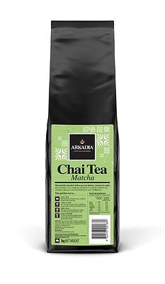 NEW Arkadia Matcha Chai 2kg Matcha Chai Powder