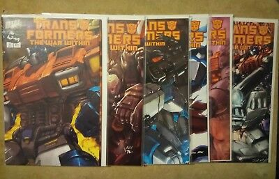 Transformers : The War Within #1-6 - DW Productions Dreamwave - 2002