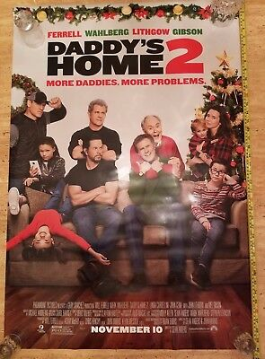 DADDYS HOME 2 UNUSED ORIGINAL AUTHENTIC DS Theater 27x40 Movie Poster