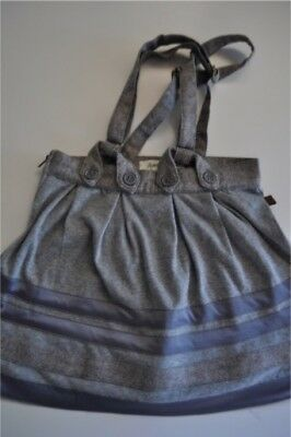Baby Girls size 2T Flannel Skirt with Straps Boutique Acoustic