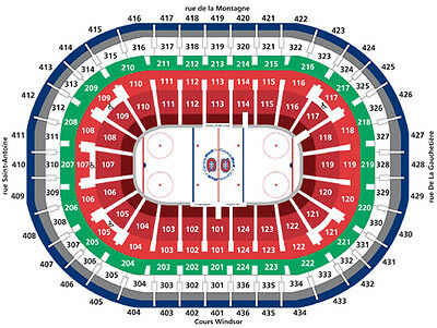 2 E-tickets Montreal Canadiens Pittsburgh Penguins March 15, 2018