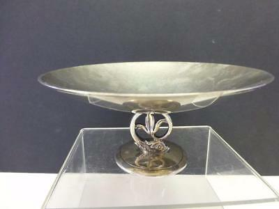 Art Deco Tiffany & Co DOLPHIN Sterling Silver Compote Bowl Candy Nut
