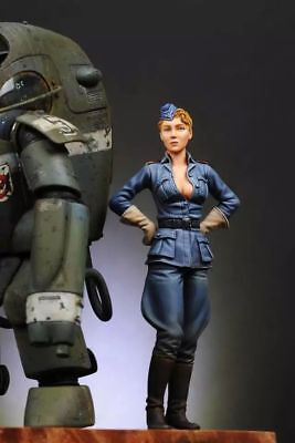 75mm 1/20 Resin Fantasy Female Soldier 2 Poses Unpainted  TS316