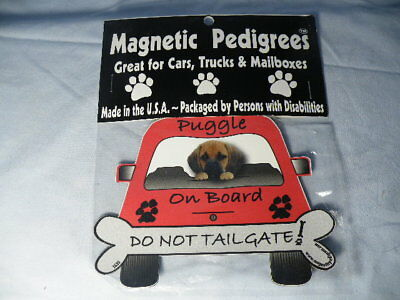 Magnetic Pedigrees Do Not Tailgate Magnets Puggle On Board