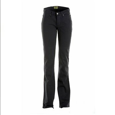 Draggin Ladies's Skins Jeans- Black/Size 12