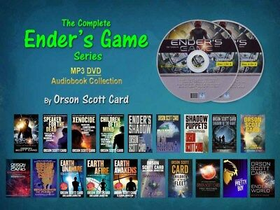 The Complete ENDER'S GAME Series By Orson Scott Card (19 MP3 Audiobooks)