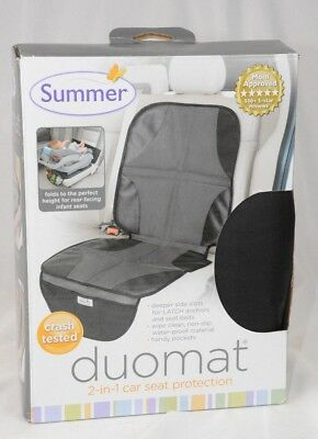Black Summer Infant DuoMat for Car Seat