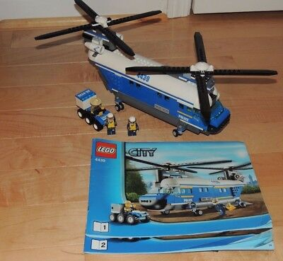 Lego Forest Police Helicopter 4439 Instructions - The Best ...