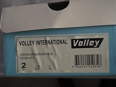 Childrens/youth Volley International Volleys  Sneakers Casual Lace Up Shoes