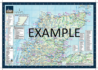 NC500 A3 Official Route Map - North Coast 500 Scotland - Brand New Latest Editio