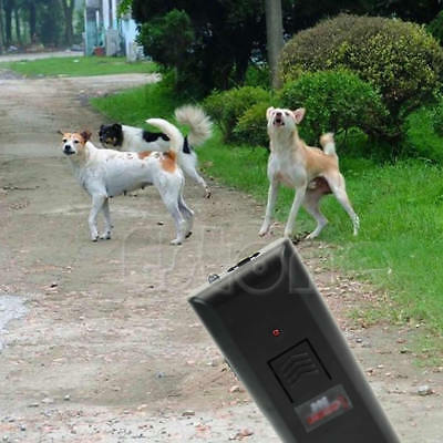 Ultrasonic Anti-Bark Aggressive Dog Pet Repeller Barking Stopper Deterrent Train