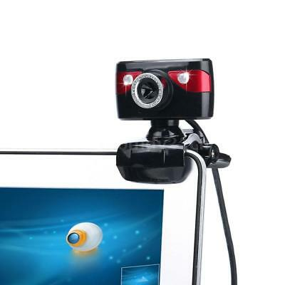 USB 2.0 12 Megapixel HD Camera Web Cam 360 Degree with Microphone Clip-on O1J3