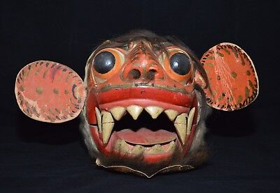 Large Barong Macan (Tiger) mask Bali Indonesia Indonesie 1st half 20th century