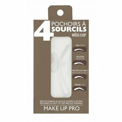 Pochoirs Sourcils MISS COP