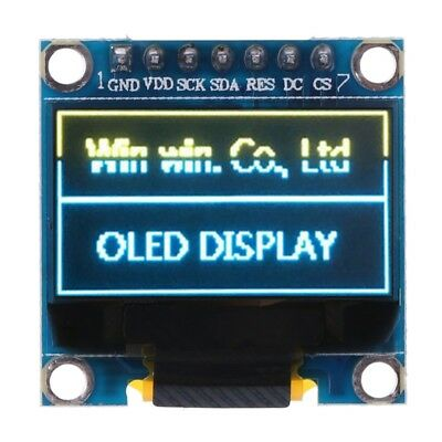 """5PCS Blue 1.3/"""" SPI Serial 128X64 OLED LCD LED Display Module for Arduino M69"""