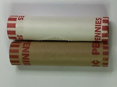 "2009 P & D Lincoln LP #2 ""Formative Years"" or ""Rail Splitter"" Cent Rolls"