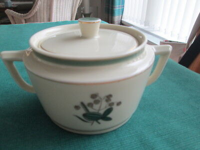 Royal Copenhagen  Demark 1952 Quaking Grass Lidded Pot