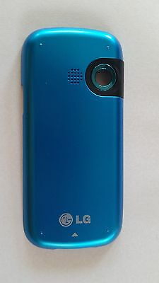 OEM Battery Door/Back Cover LG LX265 RUMOR 2 Blue - used, excellent condition