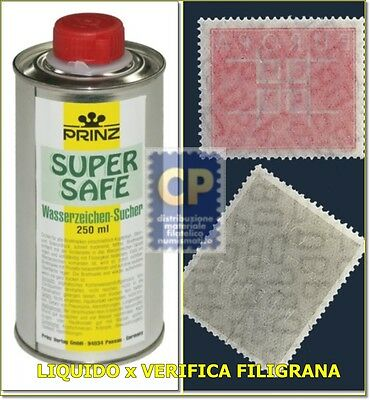 "PRINZ ""SUPERSAFE"" BENZINA x FILIGRANE"