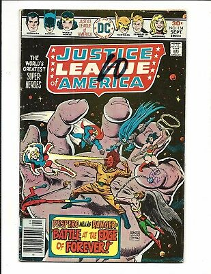 Justice League Of America # 134 (Sept 1976), Vg/fn