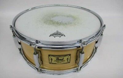 Satin Natural w//Geartre Pearl MUS1480M224 Modern Utility 14X8 Maple Snare Drum