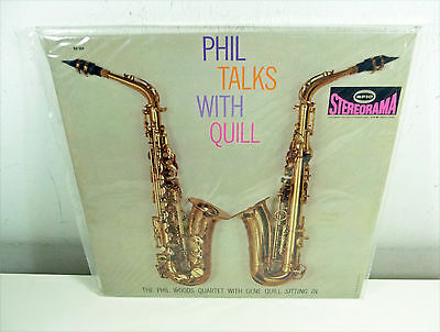 sealed SS LP 1998 USA 180gr EPIC: PHIL WOODS & GENE QUILL Phil talks with Quill