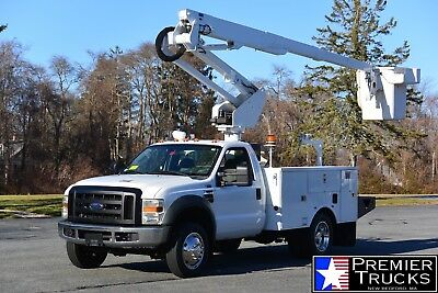 2009 Ford F550 2WD 37' Altes Articulating Bucket Truck 6.4L Powerstroke Diesel