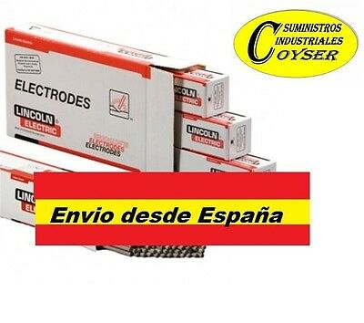 ELECTRODOS RUTILO OMNIA 46 *** LINCOLN ELECTRIC** CAJA 250 UNIDADES 2,5x 350 mm