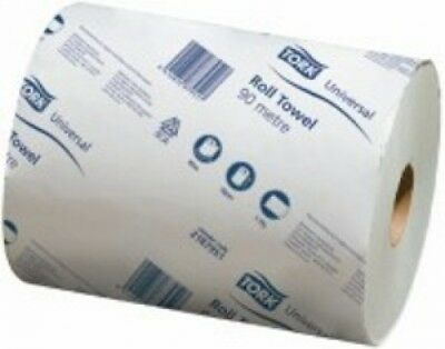 Tork Sca Universal Roll Towel 2187951 1Ply 90M 1 Ply Carton (16 Rolls)