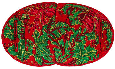 Eye Patch for Glasses, RED CHRISTMAS soft and Washable