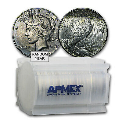 1922-1935 Peace Silver Dollars Culls(Lot, Tube, Roll of 20 Coins)