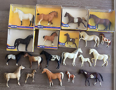 Selling RARE VINTAGE BREYER COLLECTION including DISCONTINUED models