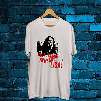 The Room Tommy Wiseau Tearing Me Apart Lisa White T Shirt Tee S-2XL