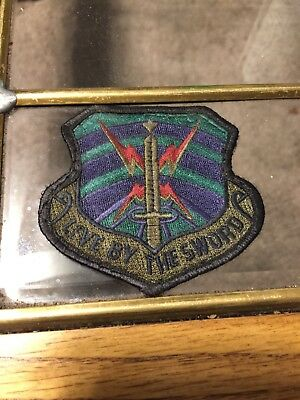 Live By The Sword Air Force Patch