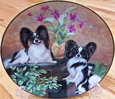 Danbury Mint Burnett MUSICAL MATES Butterfly Papillon Limited Ed Piano Plate