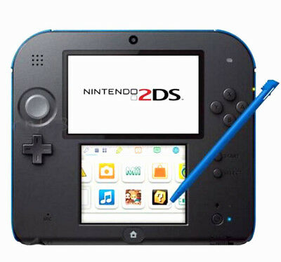4pcs Stylus For Nintendo 2DS Slot in Touch Pen Set Red Blue White & Black NA