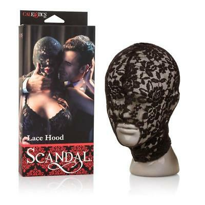 NEW Scandal Lace Hood Bondage-toys Adult Erotic Play Sex Toy